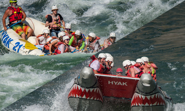 Thompson River Rafting